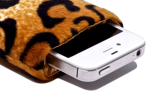 Leoparden iPhone Hülle