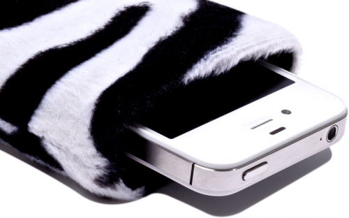 Zebra iPhone Hülle