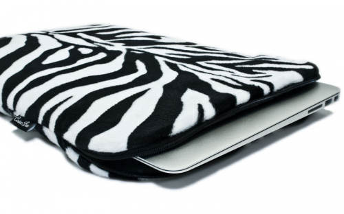 Zebra MacBookhülle 2
