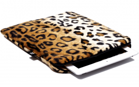 Leoparden iPad Air Hülle - Posh Leopard