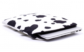 Kuh Laptophülle / Notebook Hülle - Lazy Cow