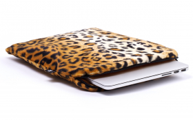 Leoparden Laptophülle / Notebook Hülle - Posh Leopard